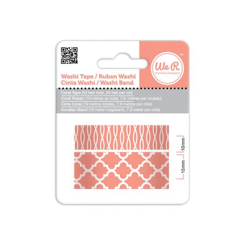 We R Memory Keepers - Washi Tape - Coral