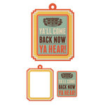 We R Memory Keepers - Country Livin' Collection - Embossed Tags - Mini Frames - Ya'll