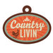 We R Memory Keepers - Country Livin' Collection - Embossed Tags - Country Livin'