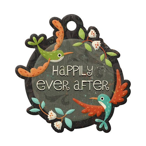 We R Memory Keepers - Storytime Collection - Embossed Tags - Ever After