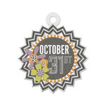 We R Memory Keepers - Bewitched Collection - Embossed Tags - October 31st