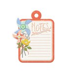 We R Memory Keepers - Farmers Market Collection - Embossed Tags - Notes