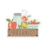 We R Memory Keepers - Farmers Market Collection - Embossed Tags - Organic