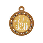 We R Memory Keepers - Indian Summer Collection - Embossed Tags - Sunkissed