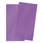 We R Memory Keepers - Clearly Bold Collection - Alpha Block Plastic Stickers - Alphabet