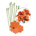 We R Memory Keepers - Crepe Paper Flower Kit - Orange