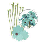 We R Memory Keepers - Crepe Paper Flower Kit - Teal