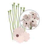 We R Memory Keepers - Crepe Paper Flower Kit - White