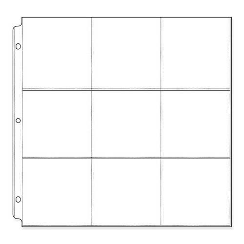 We R Memory Keepers - 12 x 12 Page Protectors with Nine 4 x 4 Inch Photo Sleeves - 10 Pack