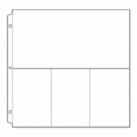 """50169-5 20ct We /""""R/"""" Albums Made Easy 12x12 POCKET PHOTO SLEEVES ~ MULTI-PACK"""