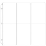 We R Memory Keepers - 12 x 12 Page Protectors - 6 Up - 6 x 4 Inch Photo Sleeves - 10 Pack