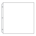 We R Memory Keepers - 8 x 8 Page Protectors - 25 Pack