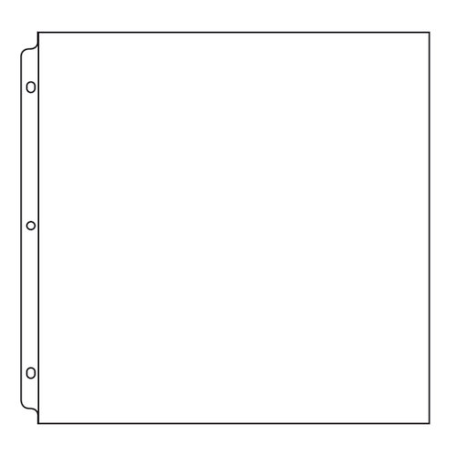 We R Memory Keepers - 12 x 12 Page Protectors - 50 Pack