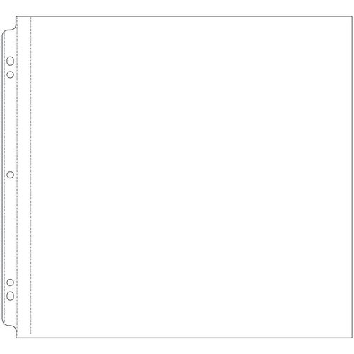 We R Memory Keepers - Page Protectors - 12 x 12 Post Bound - 10 Pack