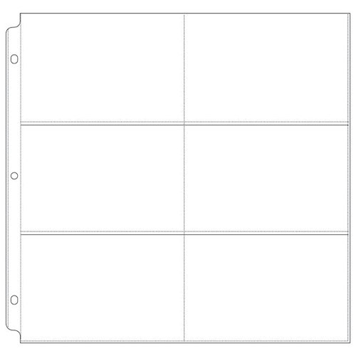 We R Memory Keepers - 12 x 12 Page Protectors - 6 Up - 4 x 6 Inch Photo Sleeves - 10 Pack