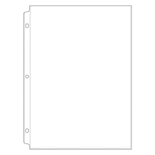 We R Memory Keepers - 8.5 x 11 Page Protectors - 10 Pack