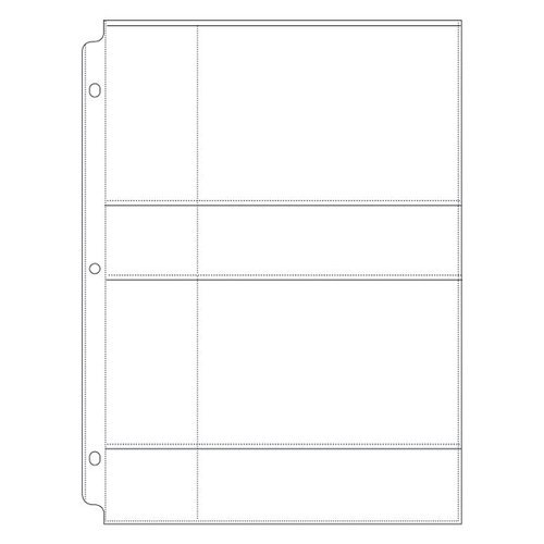 We R Memory Keepers - 8.5 x 11 Page Protectors - 2 Up - 4 x 6 Inch Photo Sleeves - 10 Pack