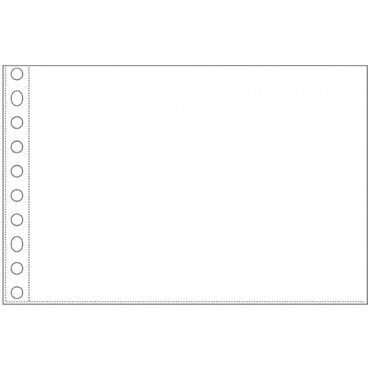 We R Memory Keepers - 5 x 7 Page Protectors - Multi Ring - 10 Pack