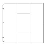 We R Memory Keepers - 12 x 12 Page Protectors with Four 6 x 4 Four 4 x 3 Photo Sleeves - 10 Pack