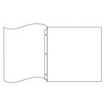 We R Memory Keepers - Page Protectors - Albums Made Easy - 12 x 12 Ring Flush Bound