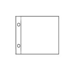 Becky Higgins - Project Life - 4 x 4 Page Protectors - Instagram Photo Sleeves - 10 Pack