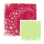 We R Memory Keepers - White Out Christmas Collection - 12 x 12 Double Sided Paper - Dreamy, CLEARANCE