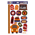 We R Memory Keepers - Embossible Designs - Embossed Cardstock Stickers - School - Head of the Class, CLEARANCE