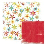 We R Memory Keepers - White Out Collection - Frenzy - 12x12 Double Sided Cardstock - Crazy, CLEARANCE