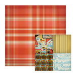 We R Memory Keepers - GeoHectic Collection - 12 x 12 Double Sided Paper - Intersection