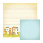 We R Memory Keepers - Twirl Collection - 12 x 12 Double Sided Paper - Home