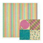 We R Memory Keepers - Vintage Blue Collection - 12 x 12 Double Sided Paper - Fashion Forward, CLEARANCE