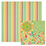 We R Memory Keepers - 72 and Sunny Collection - 12 x 12 Double Sided Paper - Dots, CLEARANCE