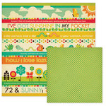 We R Memory Keepers - 72 and Sunny Collection - 12 x 12 Double Sided Paper - Forecast, CLEARANCE