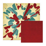 We R Memory Keepers - Old Glory Collection - 12 x 12 Double Sided Paper - Washington