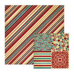 We R Memory Keepers - Old Glory Collection - 12 x 12 Double Sided Paper - Yankee Doodle