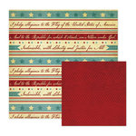 We R Memory Keepers - Old Glory Collection - 12 x 12 Double Sided Paper - America