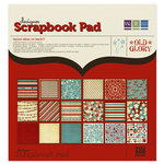 We R Memory Keepers - Old Glory Collection - 12 x 12 Designer Scrapbook Pad