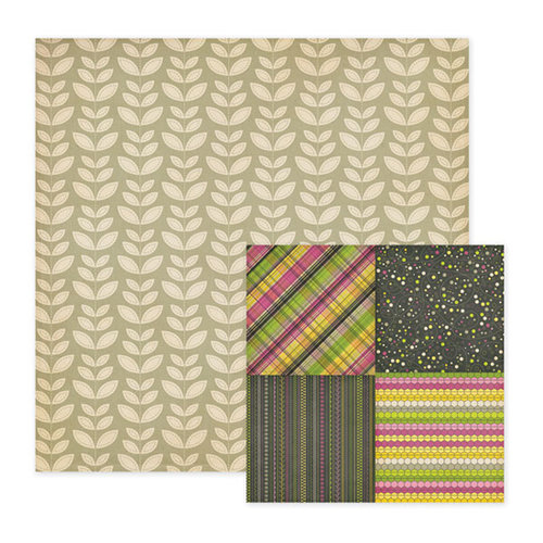 We R Memory Keepers - Retro Glam Collection - 12 x 12 Double Sided Paper - Sidney