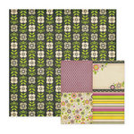We R Memory Keepers - Retro Glam Collection - 12 x 12 Double Sided Paper - Olivia