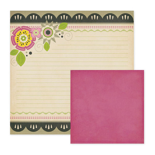 We R Memory Keepers - Retro Glam Collection - 12 x 12 Double Sided Paper - Bette, CLEARANCE
