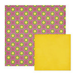 We R Memory Keepers - Retro Glam Collection - 12 x 12 Double Sided Paper - Gwen