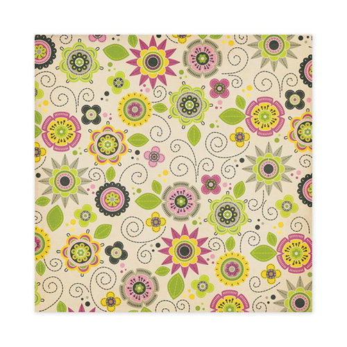 We R Memory Keepers - Retro Glam Collection - 12 x 12 Glitter Paper - Penelope