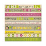 We R Memory Keepers - Retro Glam Collection - 12 x 12 Glitter Paper - Marta