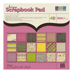 We R Memory Keepers - Retro Glam Collection - 12 x 12 Designer Scrapbook Pad, CLEARANCE