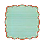 We R Memory Keepers - Show and Tell Collection - 12 x 12 Die Cut Paper - Report Card, CLEARANCE