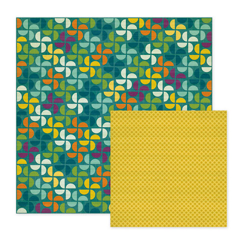 We R Memory Keepers - Show and Tell Collection - 12 x 12 Double Sided Paper - Field Trip, CLEARANCE