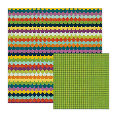We R Memory Keepers - Show and Tell Collection - 12 x 12 Double Sided Paper - School Days, CLEARANCE