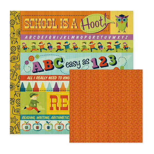 We R Memory Keepers - Show and Tell Collection - 12 x 12 Double Sided Paper - Story Time, CLEARANCE