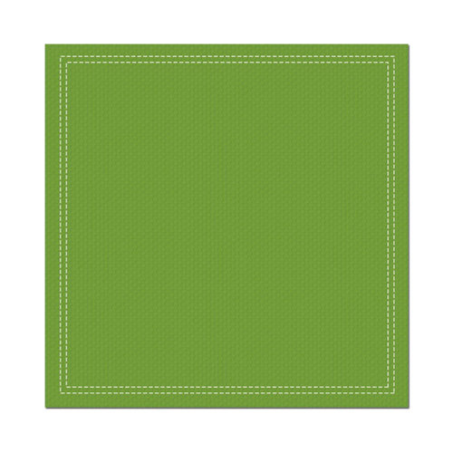 We R Memory Keepers - Show and Tell Collection - 12 x 12 Stitched Cardstock - Granny Smith, CLEARANCE