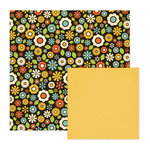 We R Memory Keepers - Out and About Collection - 12 x 12 Double Sided Paper - Flower Depot, CLEARANCE